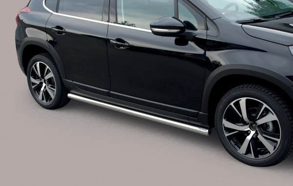 Peugeot 2008 '16 Side protection 63mm