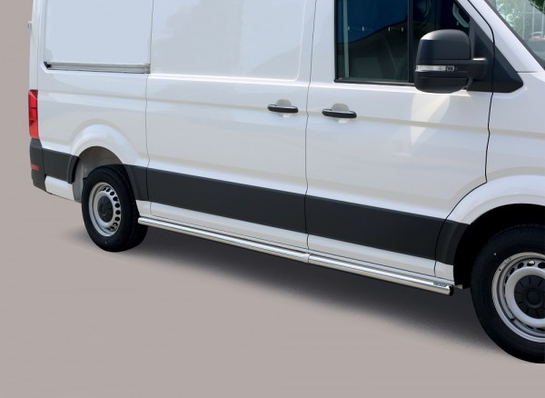 Volkswagen Crafter '17 Side protection 63mm