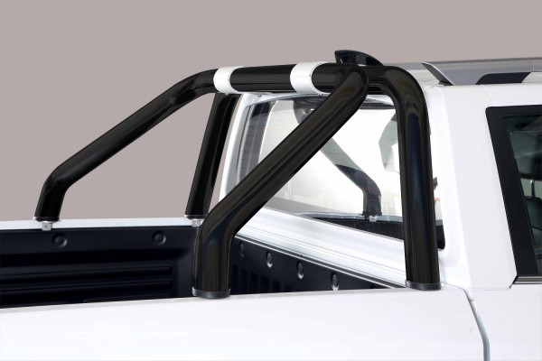 SsangYong Musso '18 Roll bar design Black 76mm