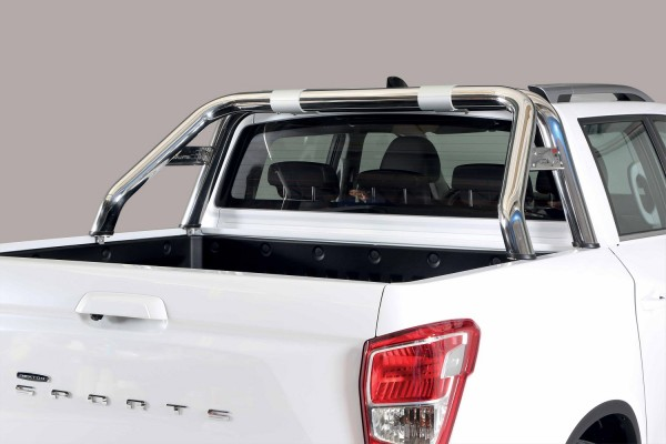 SsangYong Musso '18 Roll bar design 76mm with mark