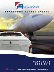 Ssangyong - Actyon Sports catalogus 2016-2017 FR