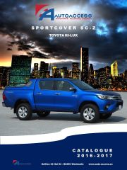 Toyota - Sportcover SC-Z Toyota HiLux '16 DC ENG