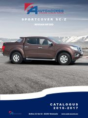Nissan - Sportcover SC-Z Nissan NP300 '16 NL